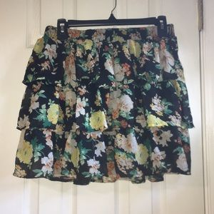 Rachael & Chloe Printed Skirt